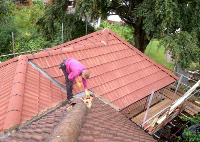 Crown Roofing Domestic Project